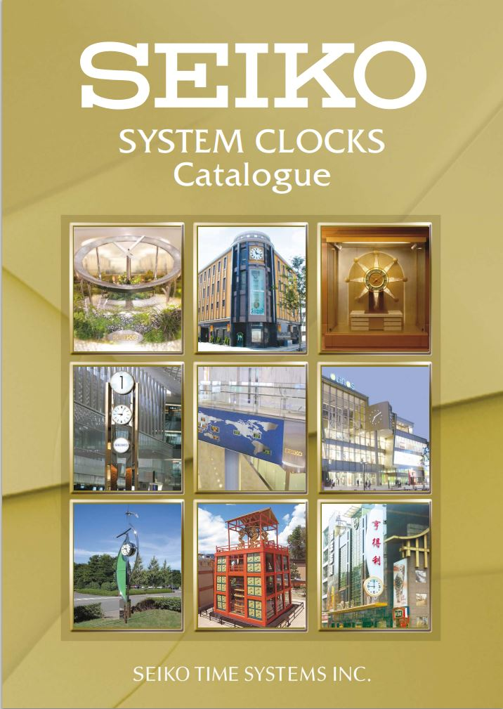 SEIKO TIME SYSTEMS Katalog